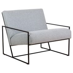Thin Frame Lounge Chair by Lawson-Fenning For Sale