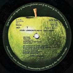 Sweet Love Quotes, Love Is Sweet, Rare Records, Vinyl Records, Plastic Ono Band, Apple Records, Find Work, John Lennon, The Beatles