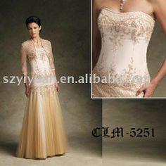 Elegant Mother Bride Dresses   Elegant Mother of the bride Dresses CLM-5251