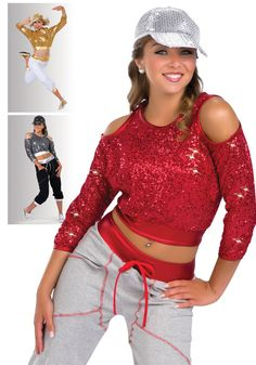 15056 - My Hitta colors: 52 Red, 67 Gray, 80 Gold Duo Costumes, Dance Costumes, Dance Fashion, Hip Hop Fashion, Hip Hop Outfits, Dance Outfits, Hip Hop Wear, Unitards, Hip Hop Dance