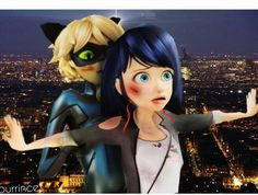 Who ships Marichat! -everyone's hands go up- thought so! Ladybug Y Cat Noir, Meraculous Ladybug, Ladybug Comics, Miraculous Ladybug Christmas, Miraculous Ladybug Movie, Lady Bug, Marinette Adrien, Los Miraculous, Polymer Clay Cupcake