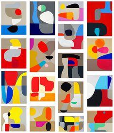 Artist Focus Stephen Ormandy - Amorphous shapes