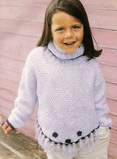 Baby Knitting Patterns, Diy And Crafts, Turtle Neck, Sweaters, Ideas, Fashion, Knitting And Crocheting, Tricot, Fabric Samples