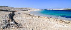Beach Prnjica - Kolan - Island Pag - Dalmatia - Zadar - Croatia