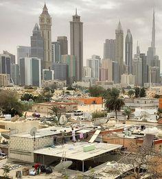 Behind The Skyscrapers In Dubai