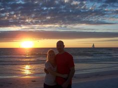Siesta Key, FL  Sunset on the beach :-)