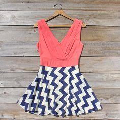 The Firecracker Chevron Dress...