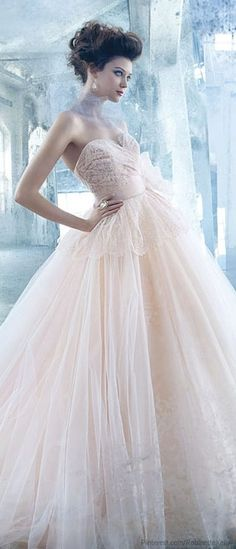 Lazaro | Bridal 2013 | ♥ pink♥blue-I luv U ♥)