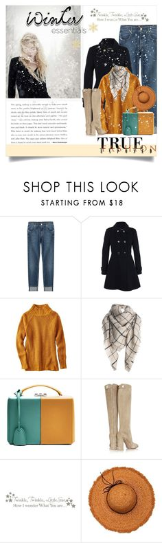 """Untitled #912"" by kriz-nambikatt ❤ liked on Polyvore featuring 7 For All Mankind, Miss Selfridge, American Eagle Outfitters, Mark Cross, Gianvito Rossi, WallPops, La Fiorentina, Winter and winterfashion"