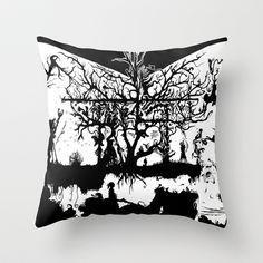 Underground Influences Throw Pillow