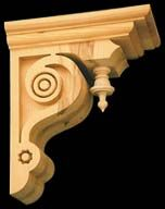 Victorian Gingerbread Corbels from Empire Woodworks - Victorian Gingerbread Woodwork