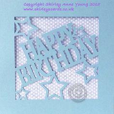 Shirley's Cards: Freebie Happy Birthday Card