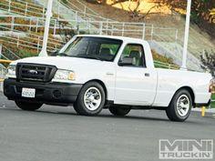 2009 Ford Ranger - Flattened Ford - Mini Truckin' Magazine