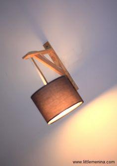 applique en bois flott et galets avec abat jour en coton blanc hauteur 26cm rio coton blanc. Black Bedroom Furniture Sets. Home Design Ideas