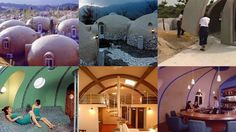 """Styrofoam homes may sound like a recipient for disaster, but Japan Dome House Co., Ltd. thinks they're the future. A future in which all of us will be hobbits or smurfs. Made with 7-inch-thick 100% expanded polystyrene foam modules, the company says that they don't have the maintenance problems of wood or metal structures, and they are """"highly resistant"""" to earthquakes, fires, and typhoons. Still, the 480 domes at Aso Farm Land resort village in Kyushu look like a suburban community..."""