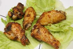 Sweet & Spicy Chicken Wings - Rainstorms and Love Notes