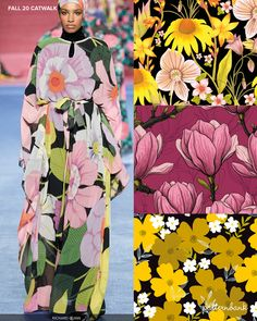 Patternbank brings you our in-depth catwalk report, highlighting the key Fall 20 Print and Pattern trends from the latest New York, London, Paris and Milan Catwalk and Runway shows. Shop the report Color Trends, Design Trends, Pattern Bank, Autumn In New York, Textiles, Folk Fashion, Fall Trends, Designer Collection, Textile Design