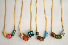 Alchemy — Vintage Ceramic Necklaces