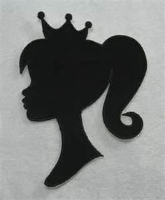 Barbie Silhouette for invitations