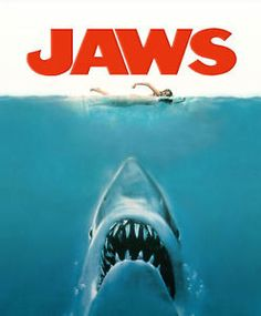 "Jaws Movie Poster 8""X10"" 
