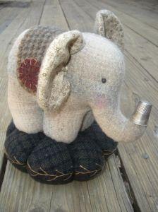 Elephant Pin Cushion