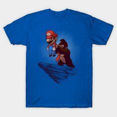 GAMING KING T-Shirt - Super Mario Bros T-Shirt is $14 today at TeePublic!