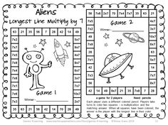 End of Year Math Games Fourth Grade: End of the Year