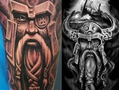 104 atemberaubende Viking Tattoos für Männer und Frauen