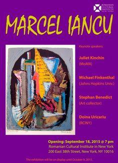 50 de lucrări ale lui Marcel Iancu, expuse în premieră la New York - Romanii din strainatate - stiri despre diaspora romaneasca