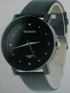 New Women 's Me     Fashion Leather Band Analog Quartz Round Wrist Watch Watches #Unbranded #DressFormal