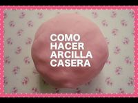 Cómo hacer arcilla casera secado al aire (Muy fácil de hacer) - YouTube Dremel 3000, Fimo Clay, Polymer Clay Art, Diy And Crafts, Crafts For Kids, Glue Art, How To Make Clay, Homemade Art, Mosaic Projects