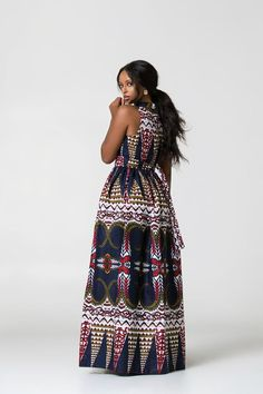 Here at Grass-fields we have an awesome range of African dress designs. Whether you're after an African print maxi or midi dress, we've got something for you. African Maxi Dresses, Ankara Dress Styles, Latest African Fashion Dresses, African Dresses For Women, African Print Fashion, Chitenge Dresses, African Wedding Attire, Kitenge, Flourish