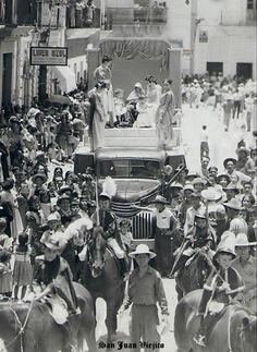 Carro alegorico en San Juan de los Lagos Jalisco Mexico 13