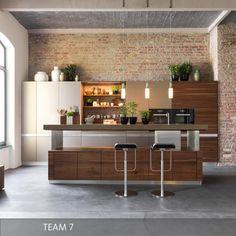 TEAM 7 Küche K7, erhöhter Tresen