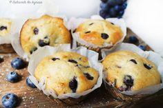 Briose Dietetice cu Afine (fara zahar, fara unt, 100% sanatoase) Best Sweets, Gluten Free, Fără Gluten, Deserts, Muffin, Paleo, Nutrition, Cooking, Breakfast