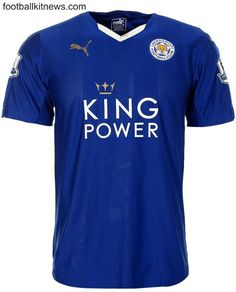 leicester city football club jersey 2015 - Google Search