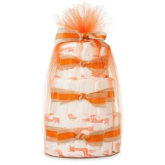 Ultra Absorbent, Extra Soft, Hypoallergenic, Non-Toxic, Mini Diaper Cake In Safari