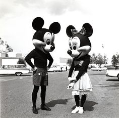 Mickey & Minnie - Disneyworld - Vintage