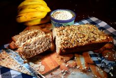 Gluten Free Quinoa Banana Bread with Flax & Coconut oil ! Packed with Protein ! Banana Quinoa Bread, Banana Bread With Oil, Banana Bread Recipes, Quinoa Oatmeal, Pasta Nutrition, Milk Nutrition, Healthy Treats, Healthy Desserts