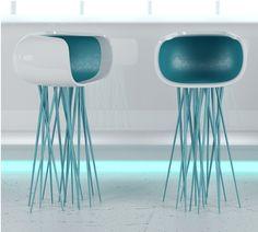 Millipede Bar Chair by Michael Samoriz