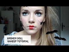 Broken Doll Halloween Makeup Tutorial | Gracie Jo
