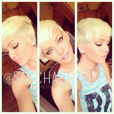 This past summer. The blonde pixie. I decided to share some pics with you all and some styles