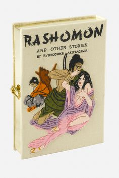 Olympia Le-Tan Rashomon Book Clutch