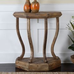 Have to have it. Uttermost Icess Wooden Console Table - $481.8 @hayneedle