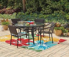 I Found A Wilson U0026 Fisher Resin Wicker Patio Set At Big Lots For Less.