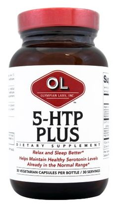 Olympian Labs 5 Htp Plus 100mg 30 capsules Pack of 2 >>> More info could be found at the image url. (This is an affiliate link)