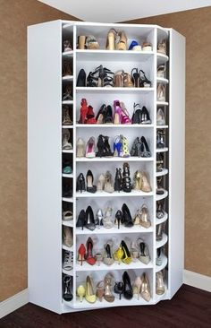 Luxury 360 Degree Revolving Closet Organizer Called The Woman's Dream by Lazy Lee by echkbet