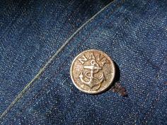U.S. Navy Button, 1922.  Found