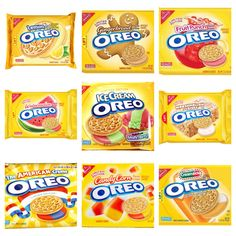 Oreo Limited Editions