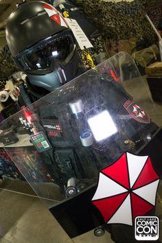 Umbrella Corp cosplay at Salt Lake Comic Con 2015